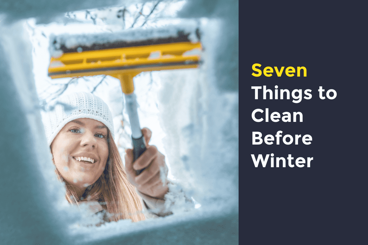 winter cleaning