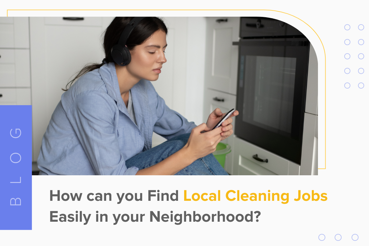Find Local Cleaning Jobs